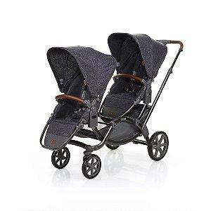 Carrinho de Bebê Para Gêmeos Zoom Travel System Style Street ABC Design