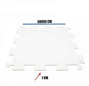 Tatame de EVA Branco 1 Un 50x50x01 cm