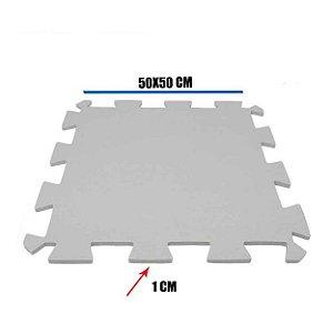 Tatame de EVA Cinza 1 Un 50x50x01 cm