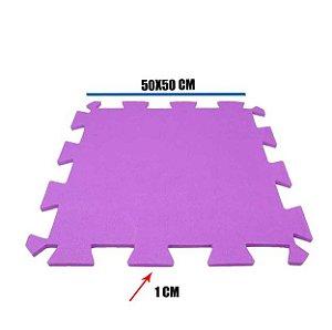 Tatame de EVA Lilás 1 Un 50x50x01 cm