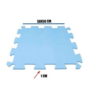 Tatame de EVA Azul Claro 1 Un 50x50x01 cm