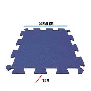 Tatame de EVA Azul Marinho 1 Un 50x50x01 cm
