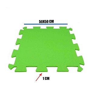 Tatame de EVA Verde Cítrico 1 Un 50x50x01 cm