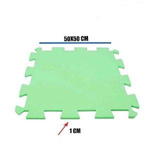 Tatame de EVA Verde Limão 1 Un 50x50x01 cm
