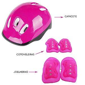 Acessórios De Proteção Pink Fênix