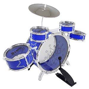 Bateria Musical Média Azul Fênix