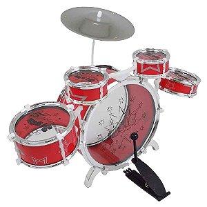 Bateria Musical Grande Vermelha Fênix