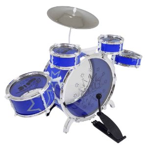 Bateria Musical Grande Azul Fênix