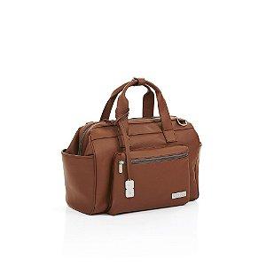 Bolsa Maternidade em Couro Changing Bag Brown ABC Design