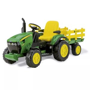 Trator Elétrico 12v John Deere Ground Force Peg-Perégo