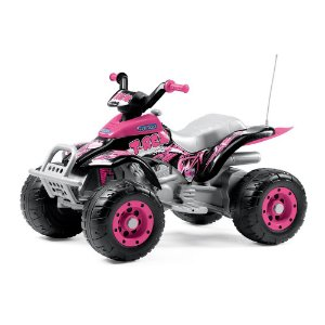 Quadriciclo Elétrico 12v Corral T-Rex Pink Peg-Pérego