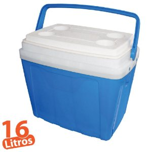 Caixa Térmica 16L Azul Antares