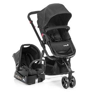 Carrinho de Bebê Travel System MOBI Full Black Dorel