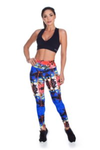 LEGGING  SUPPLEX POLIAMIDA Palm Beach 280G  LE1036