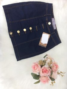 Mini Saia Jeans Blue