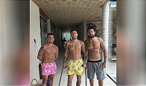 Bermuda do Neymar - Cores e Estampas Variadas