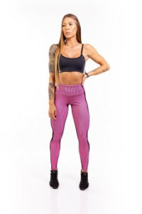 LEGGING EM SUPPLEX POLIAMIDA Illuzione Pink GRAMATURA 280G LE1039