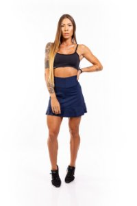 Short-Saia EM SUPPLEX POLIAMIDA Sea Blue GRAMATURA 280G SS**1048