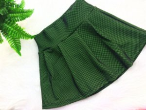 SHORT-SAIA EM SUPPLEX POLIAMIDA web green GRAMATURA 280G SS**10**10