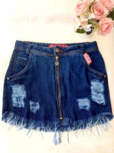 Saia Jeans Blue Star