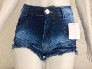 SHORT JEANS HOT PANTS Azul Escuro