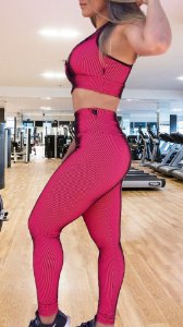 Top Illuzione Poliamida Pink Flúor TO1085