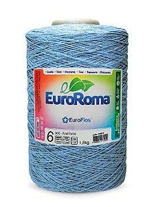 EuroRoma Colorido Azul Bebê