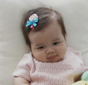 Laço infantil pirulitos