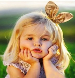 Laço infantil orelha arame