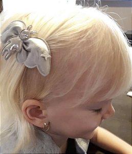 Laço infantil asas com coelho