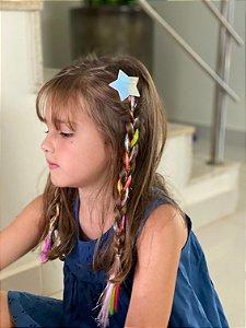 Laço infantil vinil cabelo