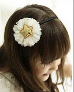 Tiara de cabelo estrela