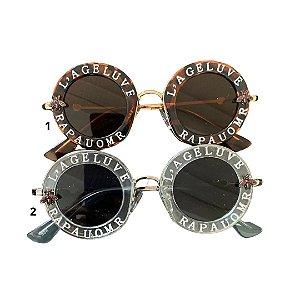 Óculos infantil metais