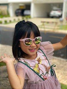 Óculos infantil espelhado