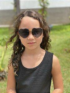 Óculos infantil transparente