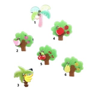Laço infantil árvore acrílico