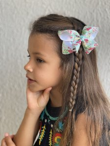 Laço infantil boutique estampas