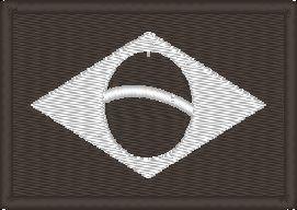 Bandeira do Brasil - Monocromática