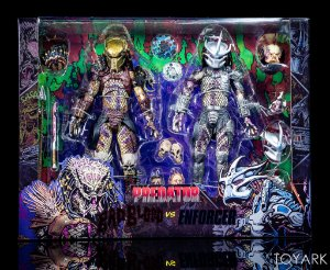 Bad Blood Predator vs Enforcer Predator Ultimate 2-Pack by NECA
