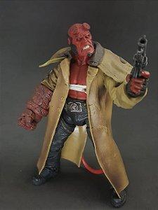 Hellboy Mezco - Wounded Hellboy - Original
