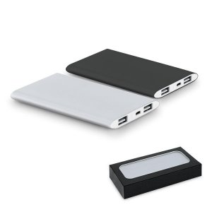 bateria power bank aluminio slin 8.000 mAh