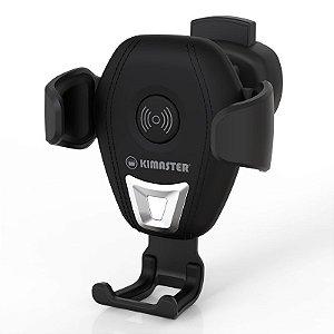 Suporte veicular automático c/ carregamento turbo wireless por indução