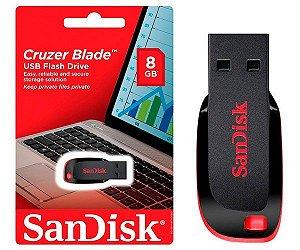 Pen Drive Sandisk Cruzer Blade 8GB Original