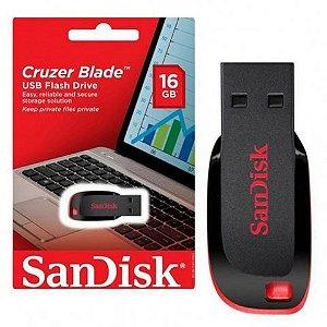 Pen Drive Sandisk Cruzer Blade 16GB Original