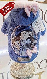 Moletom Boneca Azul