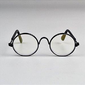 Óculos Redondo Transparente