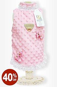 Casaco Laços Rosa