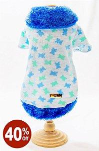 Casaco Urso Azul