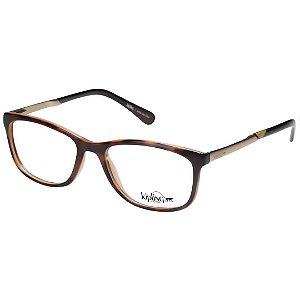 Óculos de Grau Feminino Kipling KP3061 Marrom Demi e Dourado