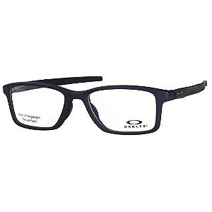 Óculos de Grau Oakley Gauge 7.1 OX8112 Preto Fosco Masculino